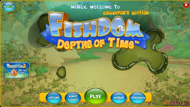 Fishdom: Depths of Time Collectors Edition