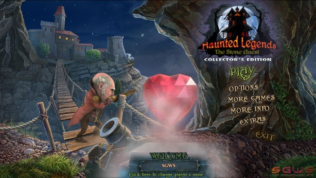 Haunted Legends 5: The Stone Guest Collectors Edition