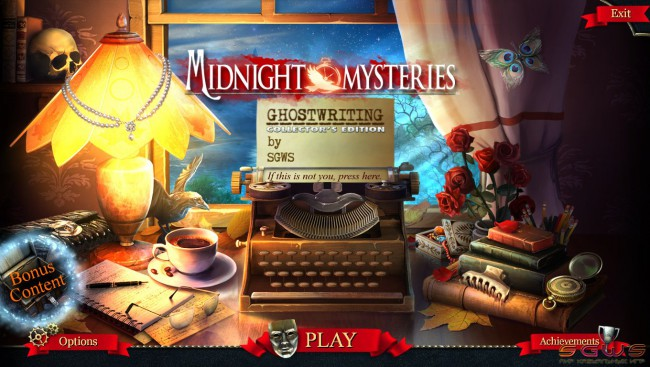 Midnight Mysteries 6: Ghostwriting Collector's Edition