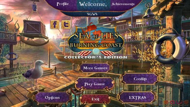 Sea of Lies 3: Burning Coast Collectors Edition