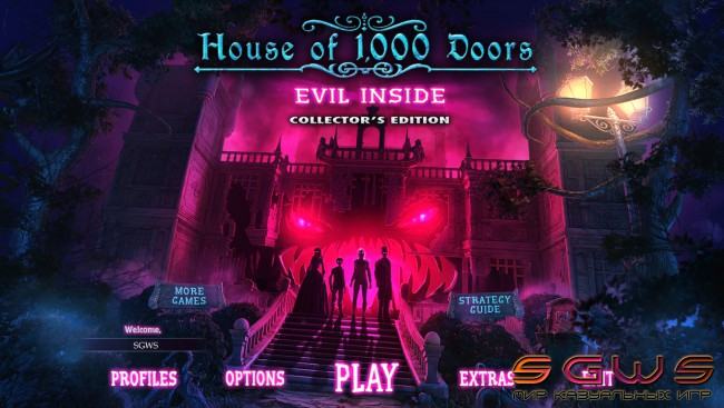 House of 1000 Doors 4: Evil Inside Collectors Edition