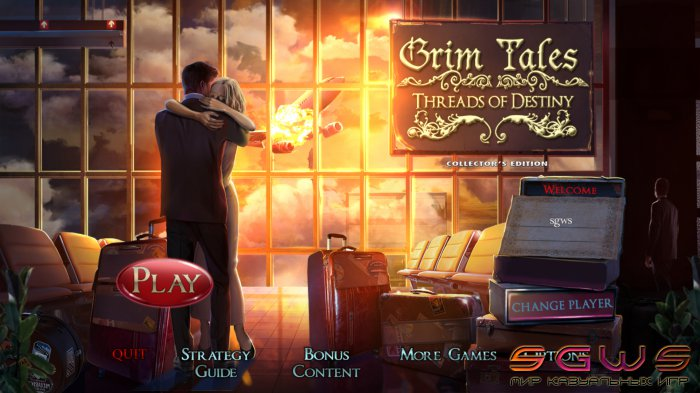 Grim Tales 9: Threads of Destiny Collectors Edition