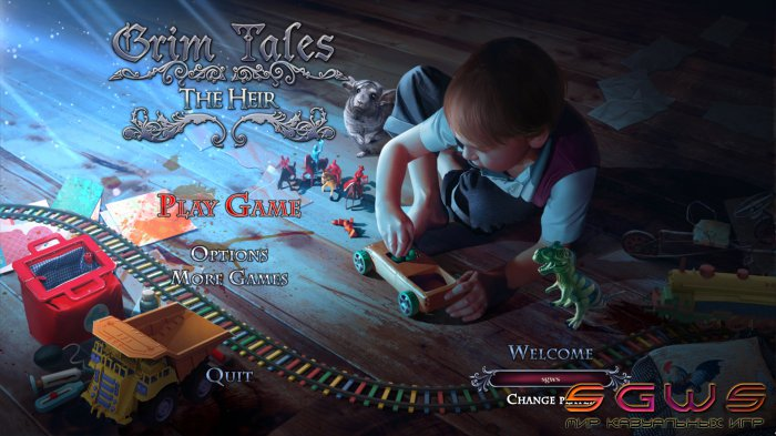 Grim Tales 10. The Heir Collectors Edition