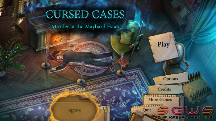 Cursed Cases: Murder at the Maybard Estate [BETA]