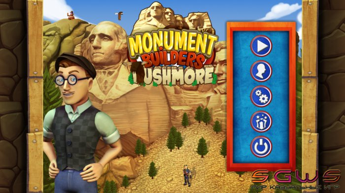 Monument Builders 12. Rushmore