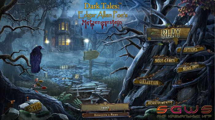 Dark Tales 9: Edgar Allan Poes Metzengerstein Collectors Edition