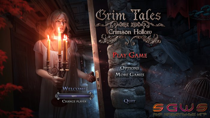 Grim Tales 11. Crimson Hollow Collector's Edition