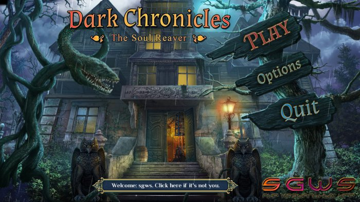 Dark Chronicles: The Soul Reaver