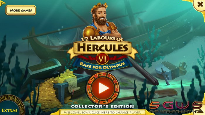 12 Labours of Hercules 6: Race for Olympus Collectors Edition