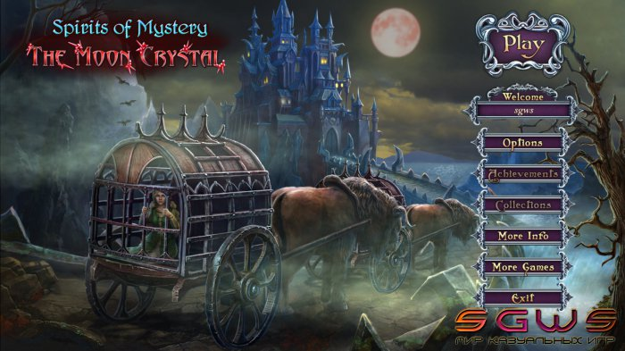 Spirits of Mystery 9: The Moon Crystal Collectors Edition