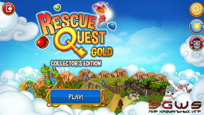 Rescue Quest Gold Collectors Edition