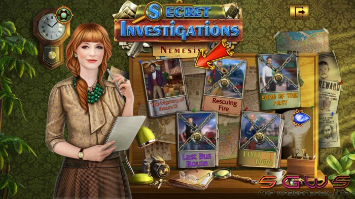 Secret Investigations 2: Nemesis (Русская версия)