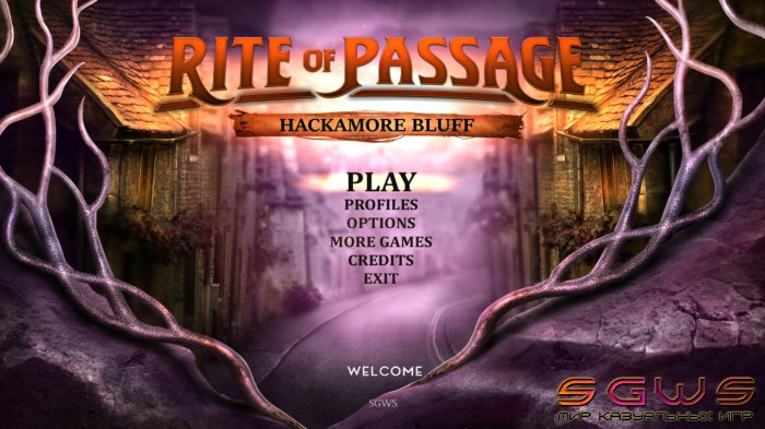 Rite of Passage 8: Hackamore Bluff [BETA]