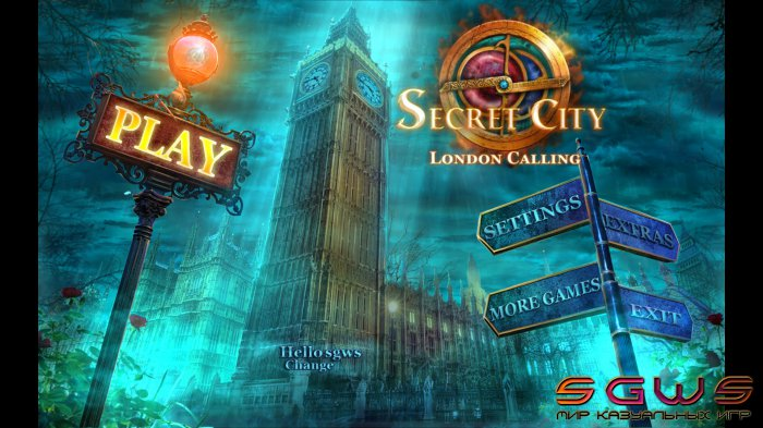 Secret City: London Calling [BETA]